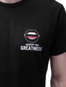 Hungry for Greatness Black T-Shirt