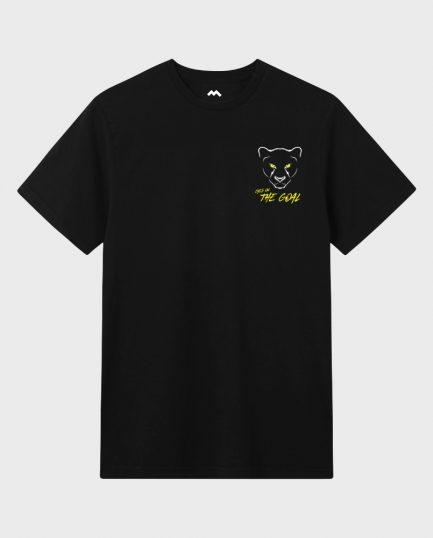 Panther Eyes - Black T-Shirt